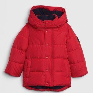 NWT GAP BOY RED COLDCONTROL MAX PUFFER COAT JACKET